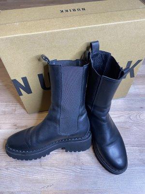 Nubikk Chelsea Stiefel, Combat Boots Gr. 38