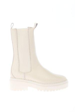 """Nubikk Schlüpf-Stiefeletten """"Fae Adams Boots"""" creme"""