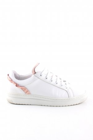 Nubikk Schnürsneaker weiß-pink Elegant