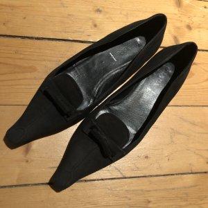 Prada Ballerinas with Toecap black