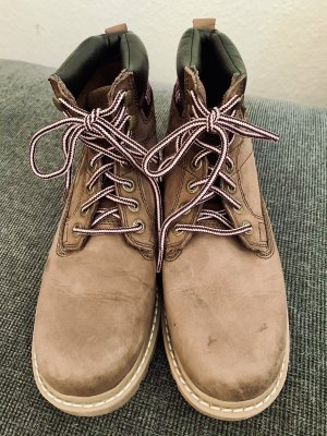 Caterpillar Desert Boots grey brown leather