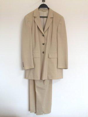 Nude Anzug, Wolle Kostüm, Blazer und Hose von Gil Bret, Gr. 44 (NEUw.)