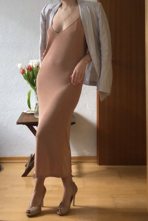 Nude dress ZARA