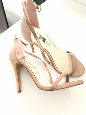 Nude high heels - barely there heels