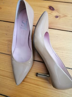 Nude Pumps von Si by Sinela