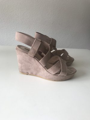 Jumex Wedge Sandals rose-gold-coloured-nude