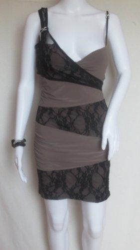 Nude Spitzen Minikleid, Partykleid M