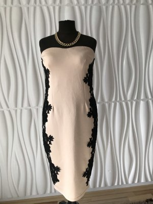AX Pencil Dress nude-black