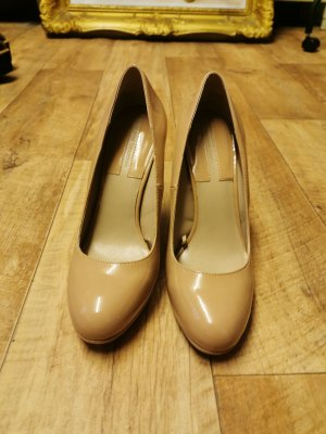 Nude Zara Pumps in Gr. 40 also 39 ;)