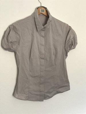 Nudefarbene Bluse von Prada
