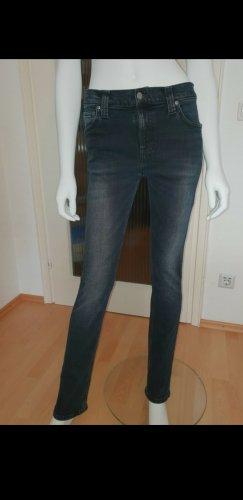 "Nudie Jeans ""High Kai"" Skinny, High Waist, W29 L32, blau, wie NEU, UVP 99,00 EUR"