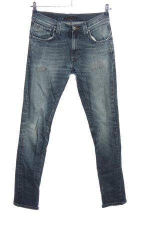 Nudie jeans High Waist Trousers blue casual look