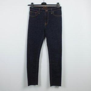 Nudie Jeans Jeans Gr. 30 dunkelblau (18/11/492)