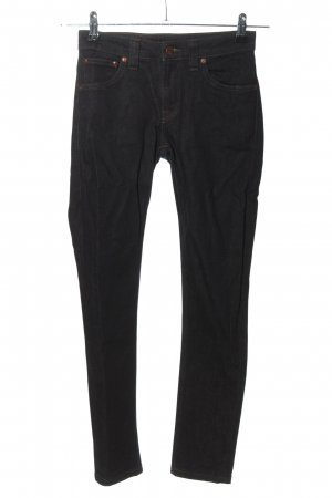 Nudie jeans Jeans skinny nero stile casual