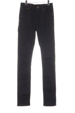 Nudie jeans Skinny Jeans dunkelblau Casual-Look