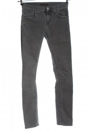 Nudie jeans Slim Jeans light grey casual look