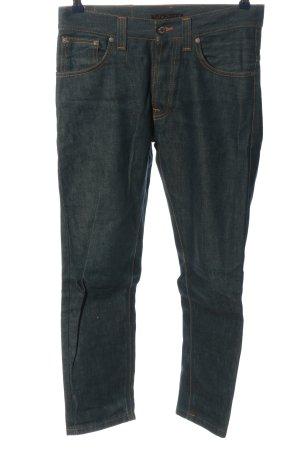 Nudie jeans Jeans a gamba dritta blu stile casual