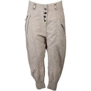 nü by staff-woman Baggy Pants beige-camel