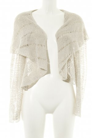 nü by staff-woman Strick Cardigan creme Zopfmuster Casual-Look