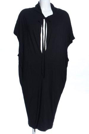 NÜ Denmark Jerseykleid schwarz Business-Look