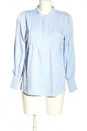 NÜ Denmark Langarm-Bluse blau Business-Look