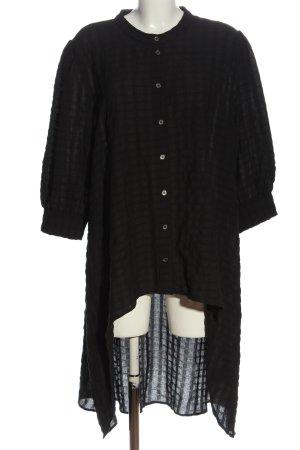NÜ Denmark Long-Bluse schwarz Casual-Look