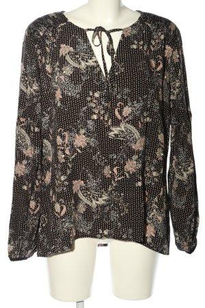 NÜ Denmark Schlupf-Bluse abstraktes Muster Casual-Look