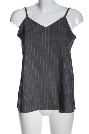 NÜ Denmark Schlupf-Bluse schwarz-weiß Streifenmuster Casual-Look