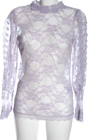 NÜ Denmark Lace Blouse lilac elegant
