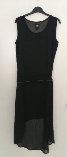 nü by staff-woman Robe bas asymétrique noir polyester