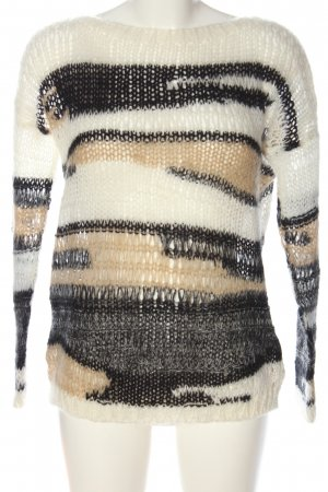 nü Crochet Sweater abstract pattern casual look