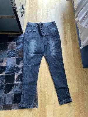 NÜ Denmark Jeans boyfriend nero-argento