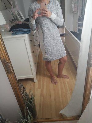 nü Kleid Longpullover grau 36 s