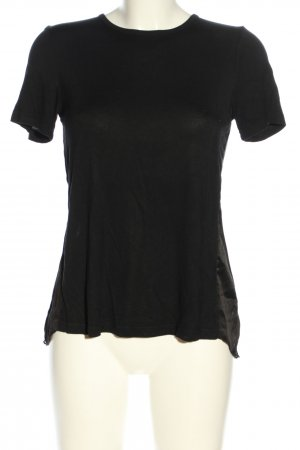 nü T-Shirt schwarz Casual-Look