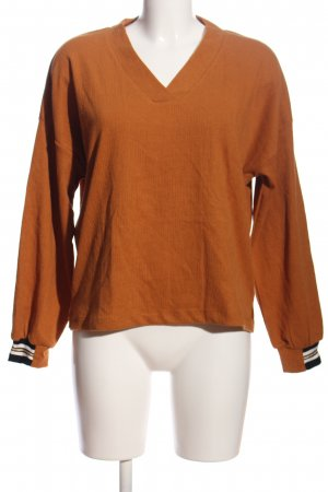 NÜMPF Crash-Bluse hellorange Casual-Look