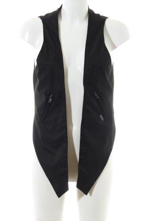 Nümph Chaleco de vestir negro look casual