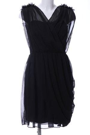 Nümph Cocktailkleid schwarz Elegant