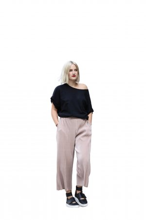 Nümph Culotte rose chair style décontracté