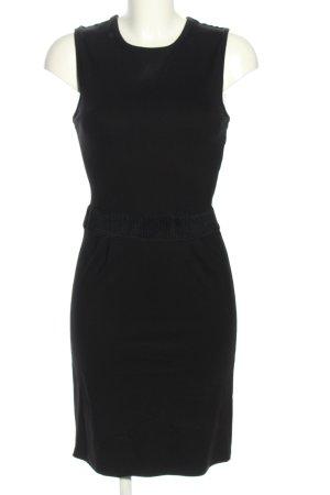 Nümph Cut-Out-Kleid schwarz Casual-Look