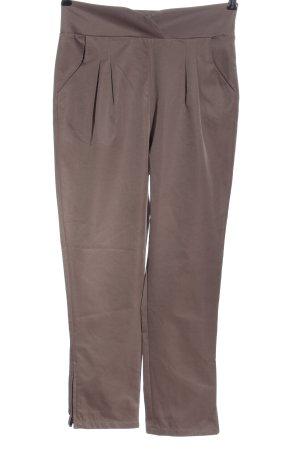 Nümph Pantalone a vita alta marrone stile casual