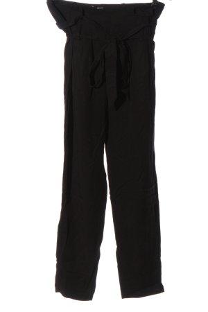 Nümph Pantalon taille haute noir style décontracté