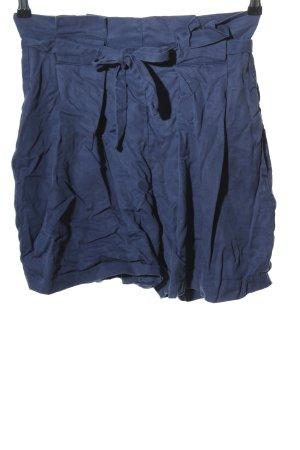 Nümph High-Waist-Shorts blau Casual-Look