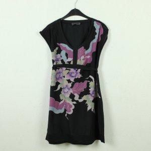 Nümph Robe mi-longue noir-rose