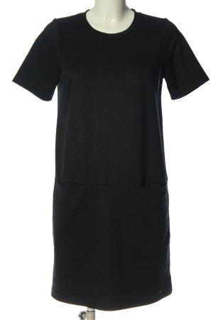 Nümph Shortsleeve Dress black flecked casual look