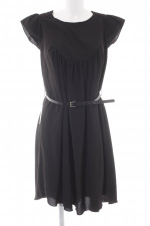 Nümph Kurzarmkleid schwarz Elegant