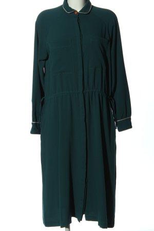 Nümph Langarmkleid grün Casual-Look