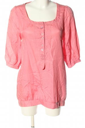 Nümph Long-Bluse pink Casual-Look