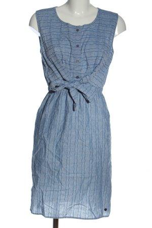 Nümph Abito blusa blu motivo a righe stile casual