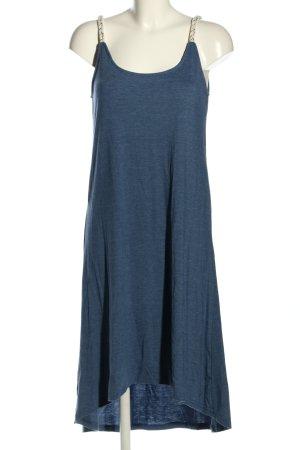 Nümph Midikleid blau meliert Casual-Look