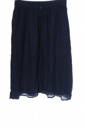 Nümph Jupe mi-longue bleu style décontracté